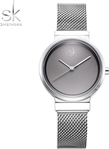 5b6471ee3 SK Shengke hodinky Elegance Silver K0083_SILVER - Glami.cz