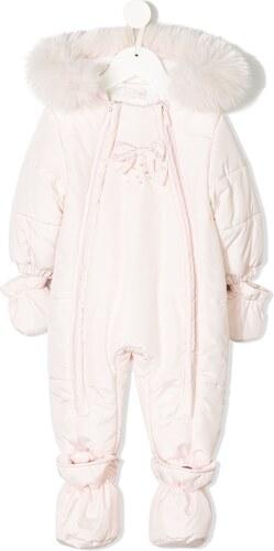 126ef21a1 Bimbalo faux fur hooded snowsuit - Pink - Glami.cz