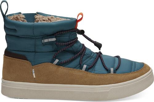 Pánské modro-hnědé kotníkové boty TOMS TRVL Lite Alpine 13 46 - 10012443- 151852afff