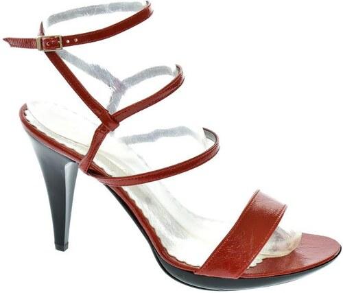 0a92cb9cc5 JOHN-C Dámske červené sandále LIANS 35 - Glami.sk