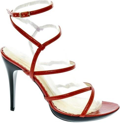 a83c1d1767 JOHN-C Dámske červené sandále BRITA 35 - Glami.sk