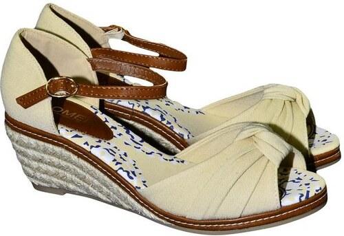 7747721bb3e6a COMER Dámske béžové sandále PAKIZA 36 - Glami.sk