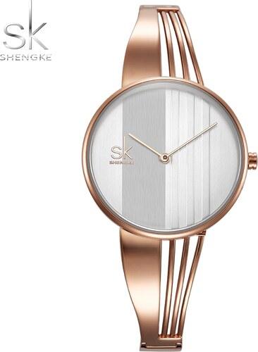 ade1f6df1 SK Shengke hodinky Nadčasová elegance K0062_L02_ROSEGOLD - Glami.cz
