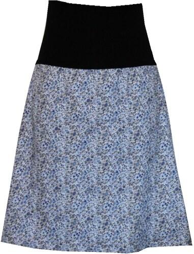 42ea88cbad4 Radka Kudrnová Těhotenská sukně do áčka ke kolenům