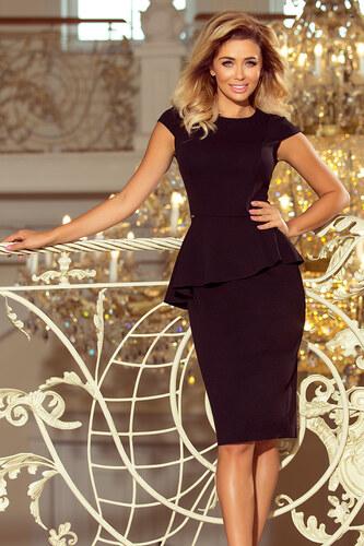 Numoco Elegantné šaty 192-3 čierne - Glami.sk 83a969b0cd1