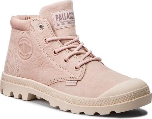 Bakancs PALLADIUM - Low Cuf Lea W 95561-677-M Rose Dust  Sand Dollard cdf72c2687