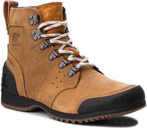 Trekingová obuv SOREL - Ankeny Mid Hiker NM2100 Elk Black 286 - Glami.sk 657a160f0cd