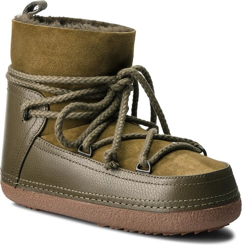 4c1bf03f3c45 Topánky INUIKII - Boot Classic 50101-1 Olive - Glami.sk