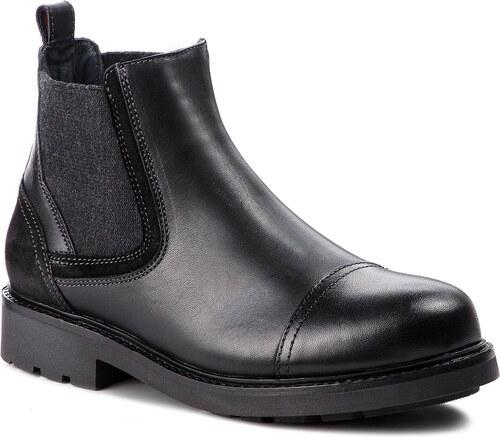 176b26fa7f Bokacsizma TOMMY HILFIGER - Active Leather Chels FM0FM01757 Black 990