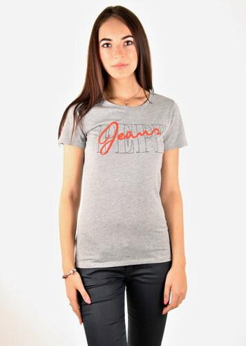 02a0c2cc5e1 Pepe Jeans dámské šedé tričko Sandy - Glami.sk