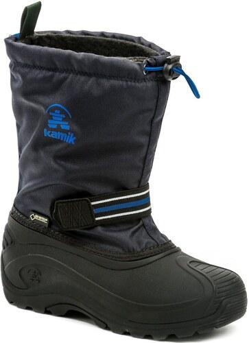 KAMIK Invade GTX modré dětské zimní sněhule Gore-Tex - Glami.cz 5ae47fc33f
