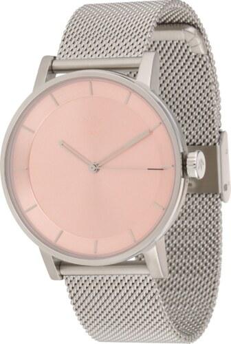 ADIDAS ORIGINALS Analogové hodinky  District M1  růžová   stříbrná ... 67e9925deb