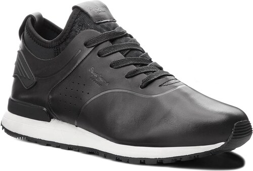 91738f1e6c Sneakersy PEPE JEANS - Boston Smart PMS30477 Black 999 - Glami.sk