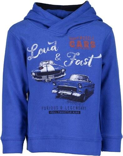 Blue Seven Chlapecká mikina s auty - modrá - Glami.cz c6f0a8afbeb