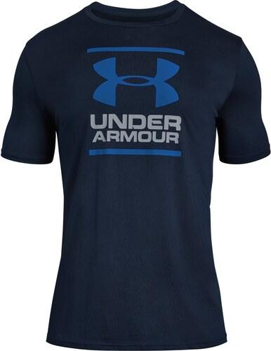 Under Armour tmavě modré pánské tričko GL Foundation SS T - M - Glami.cz 714b61b2903