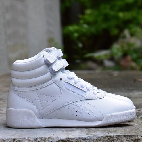 Reebok Classics Freestyle HI Dětské boty J93535 - Glami.cz 8fc3c340c0