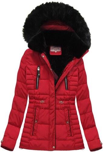 The SHE Červená prešívaná dámska zimná bunda - Glami.sk 2e254c5a88e