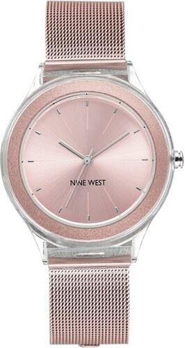 Nine West Dámske hodinky NW   2137PKPK - Glami.sk 4c52a5c7b29