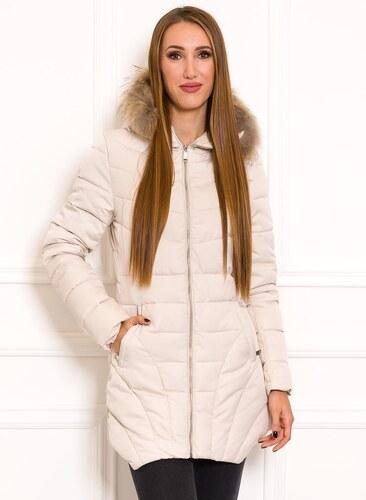 Női téli kabát Due Linee - Créme - Glami.hu 6ff77ac611