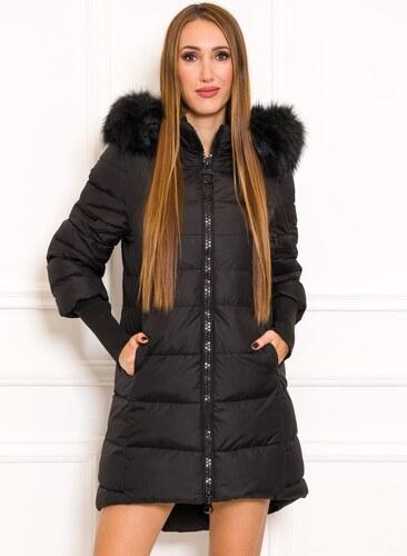 5608a2cebc Női téli kabát Due Linee - Fekete - Glami.hu