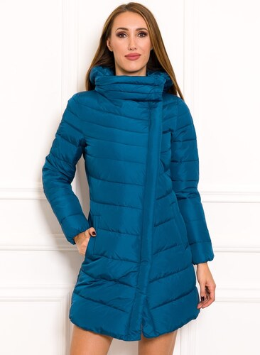 8e0f9a1b77 Női téli kabát Due Linee - Kék - Glami.hu