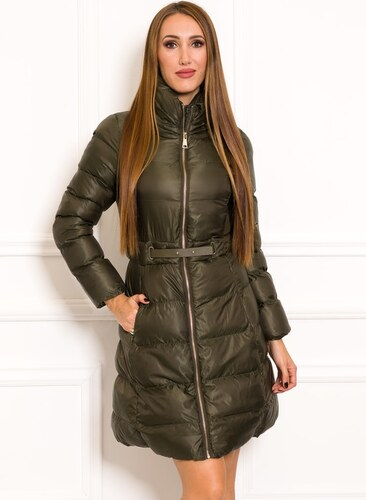 Női téli kabát Due Linee - Zöld - Glami.hu a38ffe850c