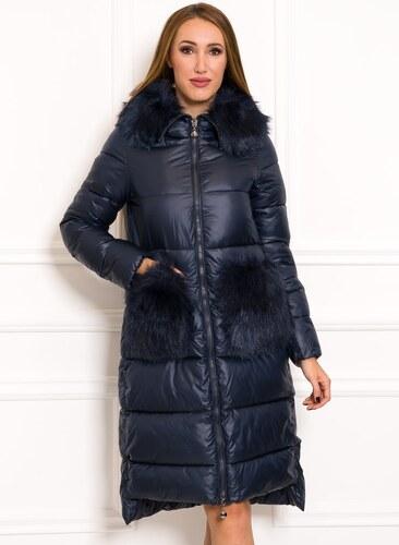 dc3dcfd17d Női téli kabát Due Linee - Sötétkék - Glami.hu