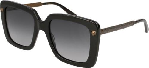 slnečné okuliare Gucci GG0216S 001 - Glami.sk bf077bdc4e0