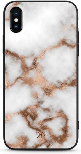 Wooder Odolný kryt Walbertt Bronz White Marble iPhone 6 6S - Glami.cz 09f1d94fcee