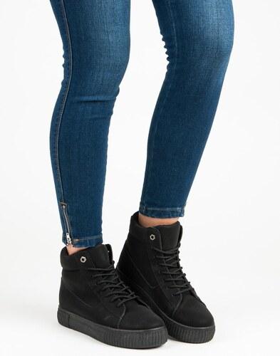 Čierne športové topánky 892-PA-B - Glami.sk fabbd65eecc