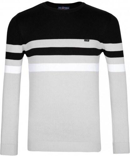 Paul Parker pánský svetr M šedá - Glami.cz acb24c6129