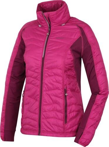 d809feab1 Husky Dámska ľahká vodeodolná bunda_svetlo ružová / tmavo ružová ...