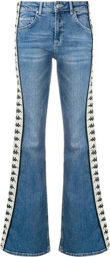 Kappa logo tape bootcut jeans - Blue - Glami.cz f740310d03