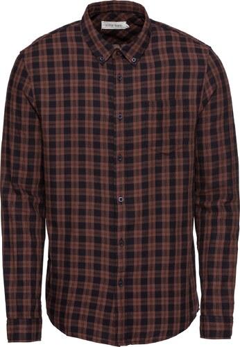 Pier One Košile  Check BD Flannel Shirt  hnědá - Glami.cz 9153d4b272