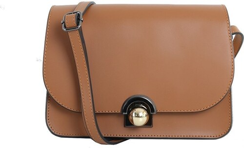 -11% TALIANSKE Talianska malá plesová kožená kabelka luxusná crossbody  medová Elisa d5bb769b4bb