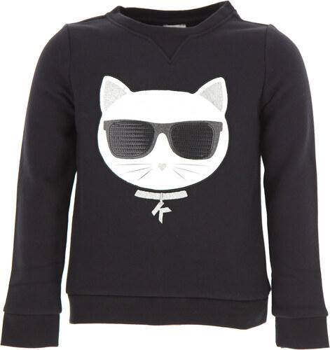 -17% Karl Lagerfeld Dětské mikiny s kapucí   mikiny pro holky Ve výprodeji 437213f7cd