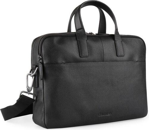 Calvin Klein Pánská kožená taška na notebook Essential K50K503857 ... fa8a8cb4ff7