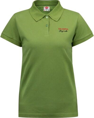 be7f5196b3e5 Lee Cooper Classic Polo Shirt dámské Green - Glami.sk