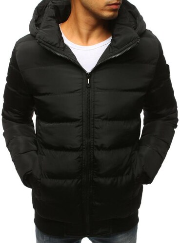 78a5e9c6e5 Manstyle Férfi téli kabát fekete - Glami.hu