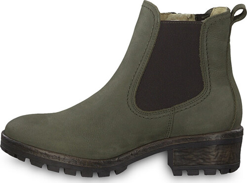 779a4049f77a Tamaris Dámske členkové topánky 1-1-26420-31-722 Olive - Glami.sk