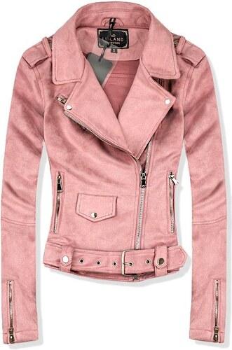 Butikmoda Rózsaszínű velúr hatású dzseki - Glami.hu 5e6f1882ab