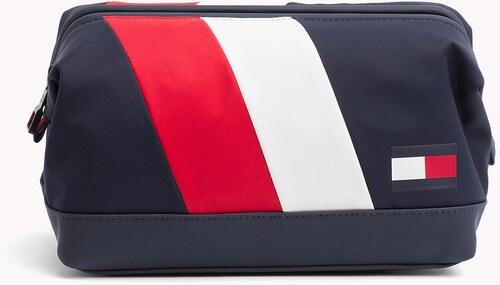 Tommy Hilfiger sötétkék férfi kozmetikai táska Tommy Chevron Framed ... d2593f5feb