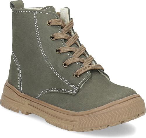 0ceab84b7559b Mini B Detská kožená zimná obuv s prešitím - Glami.sk