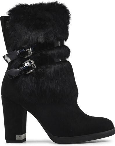 030a9bc710 Kotníkové topánky Laura Biagiotti 5122L BLACK - Glami.sk