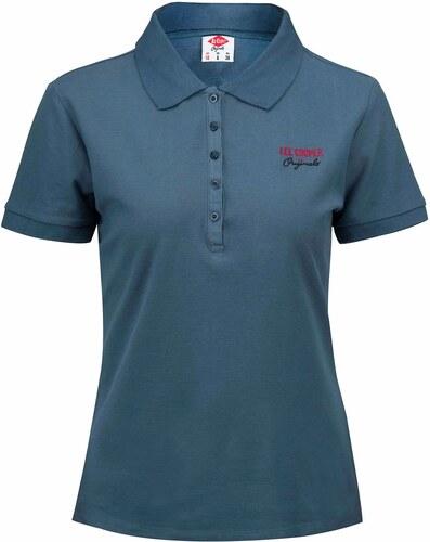e44237842914 Lee Cooper Plain Polo Shirt dámské Navy - Glami.sk