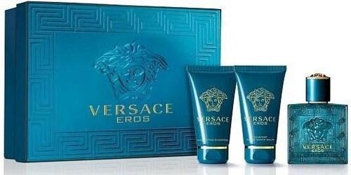 Versace Eros - EDT 5 ml + balzám po holení 25 ml + sprchový gel 25 ... 231a6ebe98