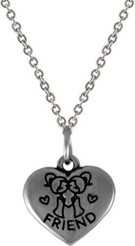 c3df2f716 Lotka NH3287OC Srdce náhrdelník z chirurgickej ocele - Glami.sk