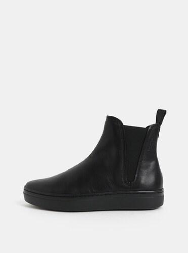 e43f4b2fce Čierne dámske kožené chelsea topánky Vagabond Camille - Glami.sk