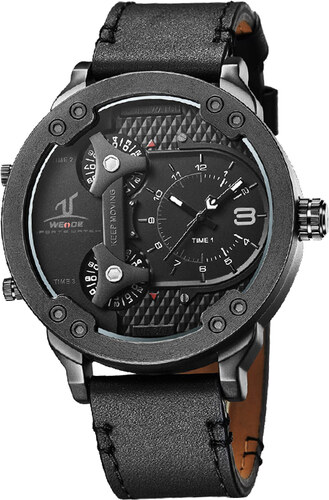Weide Pánské masivní hodinky Submarine černé - Glami.cz 226fac41645