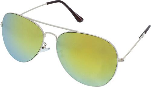 0d5eec097 Identity Sluneční brýle pilotky Pier zlaté obroučky zlatá skla ...
